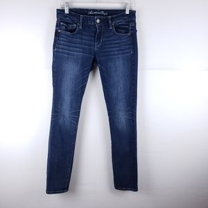 American Eagle Skinny Straight Jeans Size 8 Short